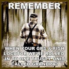 "This is so true! Grandpa ""Happy Jack"" started it all for me."