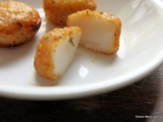 Parmesan Crusted Scallops made in a BabyCakes Cake Pop Maker + more amazing recipes