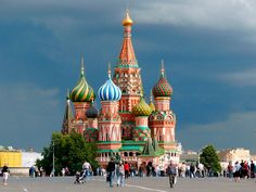 Moscow in a day Saint Basil's Cathedral