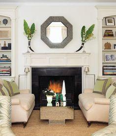 fireplace, built-ins