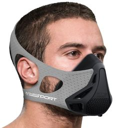 Aduro Sport Workout Training Mask - for Running Biking Training and Fitness, Achieve High Altitude Elevation Effects with 4 Level Air Flow Regulator [Peak Resistance] * Continue to the product at the image link. (This is an affiliate link) Batman Training, Leg Training, Running Training, Materiel Camping, Cool Masks, Maskcara Beauty, Fashion Mask, Half Marathon Training, Bike Run