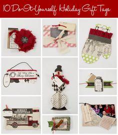 10 DIY Holiday Gift Tags