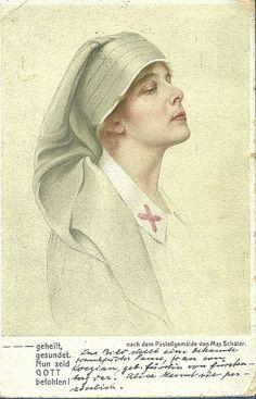 First World War German Nurse by backmanmal, via Flickr