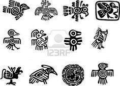 Mexican or maya motifs | Tatoos | Pinterest | Maya, Mayan Symbols ...