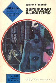 439  SUPERUOMO ILLEGITTIMO 3/7/1966  NO MAN ON EARTH (1964)  Copertina di  Karel Thole   WALTER F. MOUDY