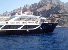 Santorini: la mezza luna delle Cicladi