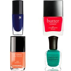 11 Best Summer Nail Polish Colors - Nail Shades and Trends Summer 2014 - Harper's BAZAAR
