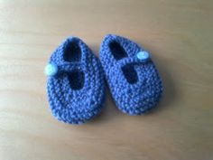 Savvy mama uk: Knitted Baby Booties