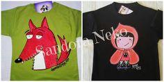 Camisetas pintadas a mano, artesanía textil, ilustración. https:// www.facebook.com / sandoranekoneko  http:// sandoraneko.blogspot.com.es