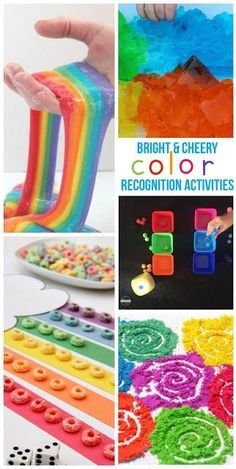 Over 40 Creative, fun, and unique Color Recognition Activities for toddler, preschool, kindergarten, first grade, 2nd grade and more for march, rainbow theme, color recognition, and more