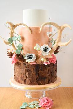 Sugar High Cakes - Stunning Contemporary Wedding Cakes - Girl Gets Wed Country Girl Cakes, Country Birthday Cakes, 13 Birthday Cake, Birthday Cakes For Teens, 14th Birthday, Western Wedding Cakes, Contemporary Wedding Cakes, Chocolate Chip Cookie Cake, Sweet 16 Cakes