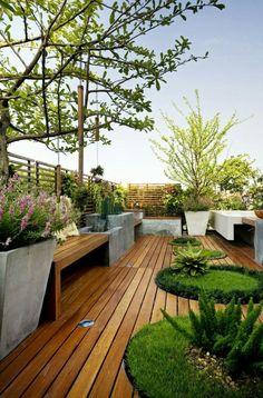 Terrace And Garden Layout Idea Part 86