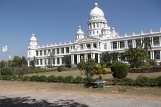 The Lalitha Mahal is the second largest palace in Mysore. It is located near the Chamundi Hills, east of the city of Mysore in the Indian state of Karnataka.