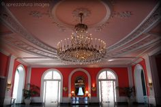 The Greenbrier: Cameo Ballroom, Dorothy Draper, hollywood regency