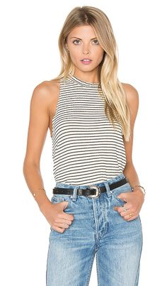 Shop for LNA Twiggy Tank in Beige & Black Stripe at REVOLVE. Free 2-3 day shipping and returns, 30 day price match guarantee.
