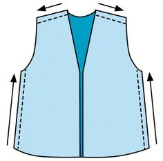 This handy sewing tip from Threads #178 helps you get both sides of the garment to stay the same length throughout the construction process.