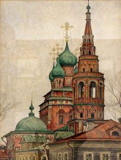 """""""Церковь Воскресения в Кадашах""""  (Виктор Коленда)"""