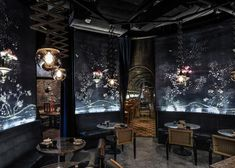 mott 32 restaurant - Hong Kong architect Joyce Wang designed the interior for Mott 32 Restaurant, a design which has earned the title of 'World Interior of the Ye. Bar Interior Design, Best Interior, Luxury Interior, Interior Architecture, Interior Paint, Industrial Apartment, Industrial Bedroom, Industrial House, Industrial Closet