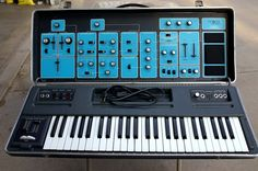 MATRIXSYNTH: Vintage Moog Sonic 6 Synthesizer SN 2072