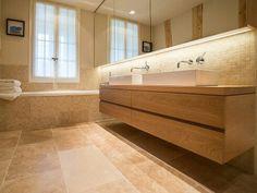 salle de bain travertin - Carrelage Travertin Salle De Bain