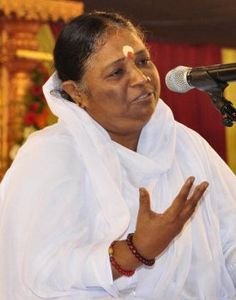 """Meet the extraordinary """"hugging saint"""", Mata Amritanandamayi. She is called by her disciples and followers as """"Amma"""" or Mother in English. Since the beginning of her spiritual vocation, Mata is believed to have hugged a total of 37 million people coming from all walks of life. She is regarded as one of the most revered spiritual figures by Hindus and other denominations. """"The power of human mind is immeasurable"""". Mata Amritanandamayi http://thextraordinary.org/mata-amritanandamayi"""