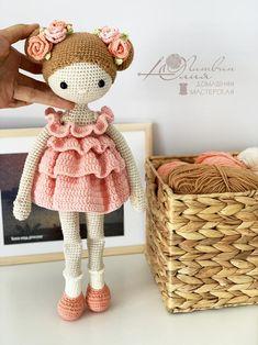Crochet Doll Pattern, Crochet Bunny, Crochet Patterns Amigurumi, Cute Crochet, Amigurumi Doll, Plush Dolls, Amigurumi Tutorial, Knitted Dolls, Crochet Dolls