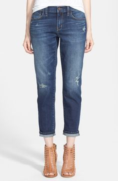 Treasure&Bond Boyfriend Jeans (Medium Wash) available at #Nordstrom