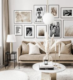 Gallery Wall Inspiration - Shop your Gallery Wall Home Living Room, Interior, Home Remodeling, Cheap Home Decor, Home Decor, Room Inspiration, House Interior, Apartment Decor, Living Room Inspiration