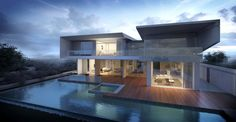 Mangrove villa by Vic Nguyen | Architecture | 3D | CGSociety