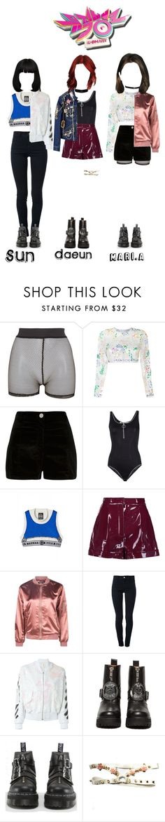 """""""Starz - Move On [Music Bank HOT Stage]"""" by starz-official ❤ liked on Polyvore featuring Bitching & Junkfood, Ashish, River Island, Off-White, Nasir Mazhar, Valentino, Boohoo, STELLA McCARTNEY, UNIF and Dr. Martens"""