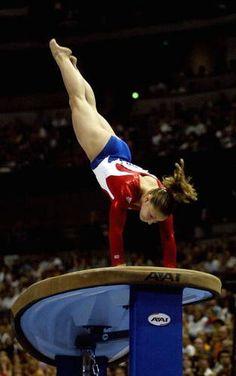 Gymnast Courtney Kupets