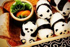 Panda Sushi that's way to cute!