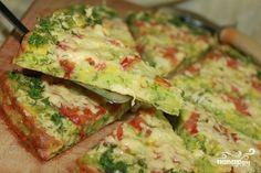 Pizza de abobrinha!