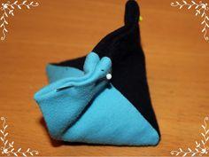 Perlenhuhn: Anleitung: Jongliersäckchen (Pyramiden) nähen