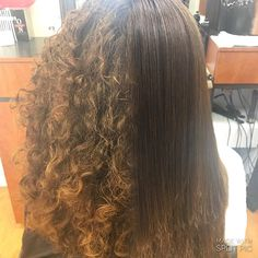 Before and after #BrazilianBlowout! Don't get caught at your holiday parties with a frizzy head. Call and book your Blowout today! #onstagehairdesign #BeaumontTx #4098660560 #beforeandafter #inkaraschair #everydayonstage #hairbrained #behindthechair #setx #wellalove #cosmetology #career #nofilter by kshavv http://shearindulgencespansalon.com/