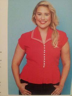 Gertie sews vintage casual - Sailor blouse (variation)