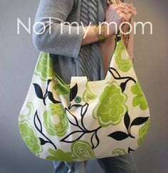 Hobo Bag made for her mom...... look for Hobo ballet bag for more instructions and pattern