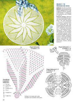 Kira scheme crochet: Scheme crochet no. Motif Mandala Crochet, Crochet Doily Diagram, Crochet Doily Patterns, Thread Crochet, Crochet Scarves, Crochet Doilies, Irish Crochet, Free Crochet, Knit Crochet