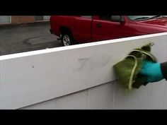 Tagaway® Graffiti Remover - Removers Marker from Vinyl Fence.  Video from Equipment Trade Service Company Inc. for the product Tagaway. For more information go to http://www.shopetsonline.com/tagaway-p/cpcp-204505.htm