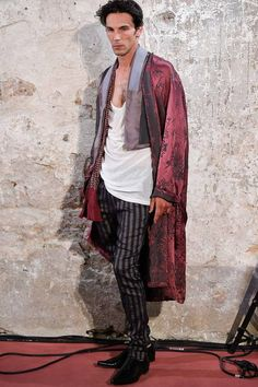 Haider Ackermann | Spring 2015 Menswear Collection | Style.com