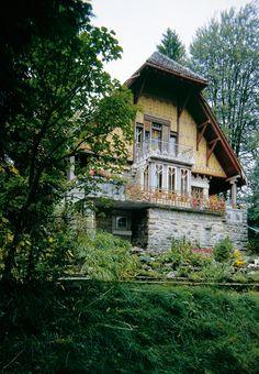 Arts and Crafts : Villa Fallet (1906-07) | Charles-Édouard Jeanneret : Le Corbusier