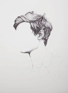 hair drawing 3