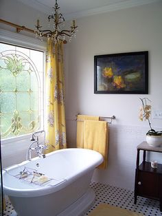 Would like to do this with the stained glass and tub.