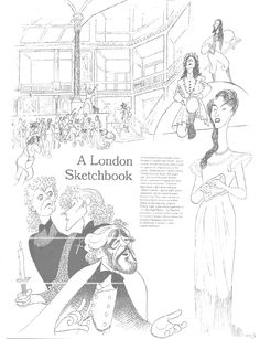 238 best the works of al hirschfeld images celebrity caricatures How Drinking Beer al hirschfeld london sketchbook iain glen and matt rawle in martin guerre joanna riding in a little night musical and eileen atkins
