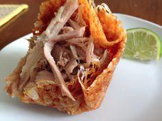 How to Make Zero Carb Cheese Taco Shells » WickedStuffed Keto Blog