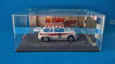 Diorama Cobblestone Street  Diorama Calle Adquines  #slot #slotcar #diorama #scalextric #ninco #carrera #scx  #diorama #street #cobblestone #seat600 # abarth #alotslot #calle #callejon #adoquines