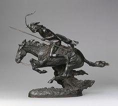 Frederic Remington, (American, 1861–1909). The Cheyenne. The Metropolitan Museum of Art, New York. Rogers Fund, 1907 (07.80) #horses
