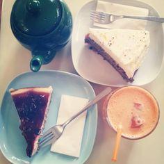 Merendola #cake #tea #juice