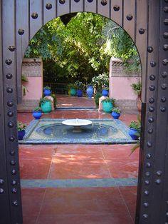Morocco - Marrakech, Majorelle Garden