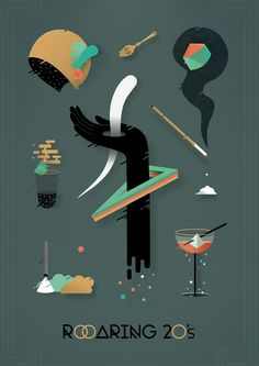 Roaring 20's on Behance